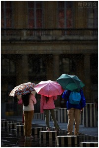 Paris - Sunshower